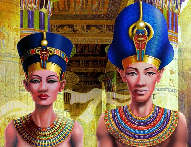 nefertiti_and_pharaoh_by_snowsowhite-d351nqc